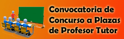 Convocatoria de Plaza a Profesor Tutor